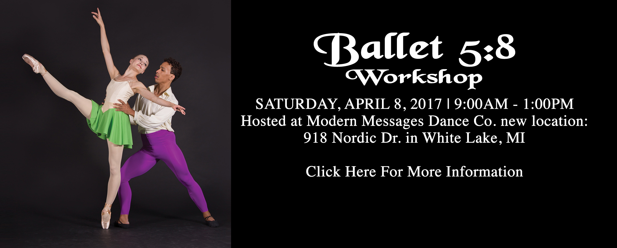 Ballet 5:8 Workshop